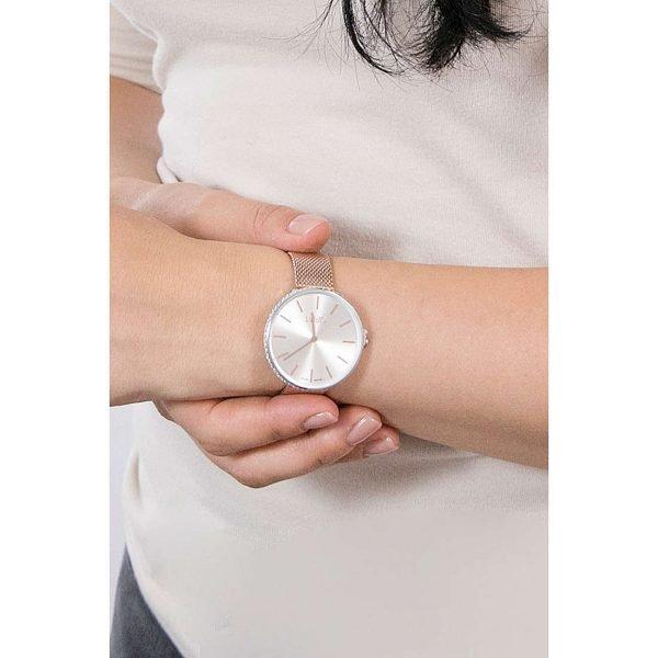 Orologio Liu Jo Donna Solo Tempo In Acciaio Rosè Glamour Globe Maxi Movimento Al Quarzo Miyota Cal 2025 1 Verre Gioielli - l'istituzione del gioiello