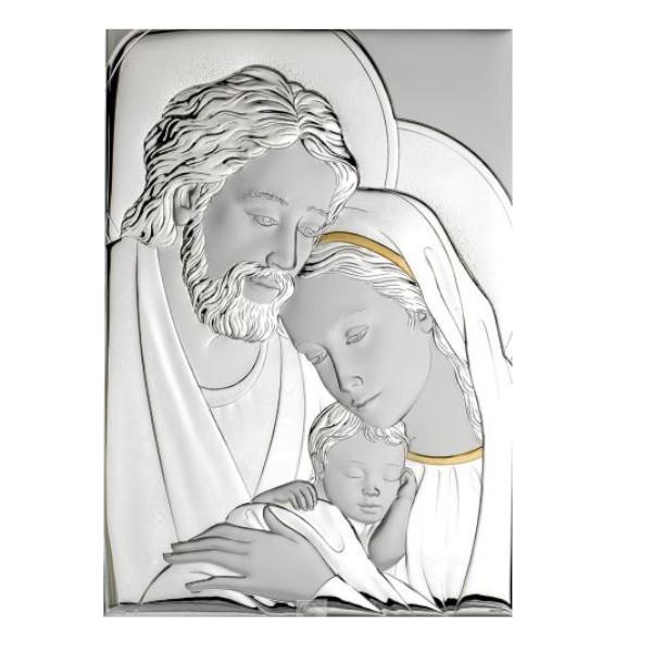 Sacra Famiglia Atelier In Argento E Oro