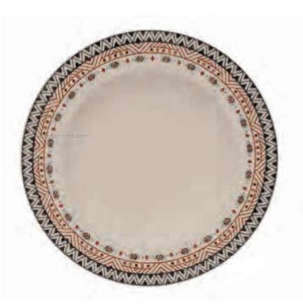 Set 6 Piatti Fondi Fade In Porcellana Mandala