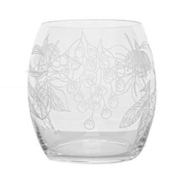 Set 6 Bicchieri Acqua Fade In Vetro Diagravure Jardin