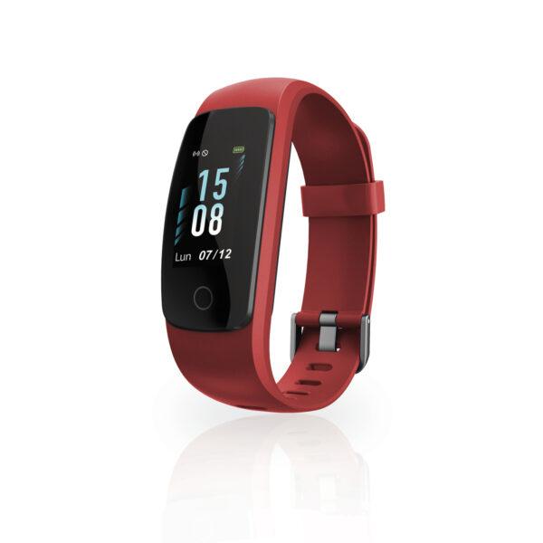 Techmade Smart Bracelet Fit 2.0 Rosso