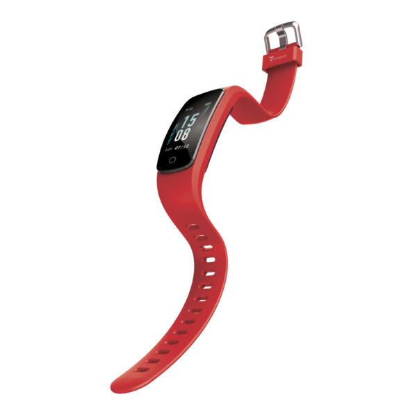 Techmade Smart Bracelet Fit 2.0 Rosso 2 Verre Gioielli - l'istituzione del gioiello